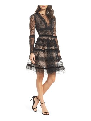 Bronx and Banco bronx & branco lolita embellished fit and flare dress