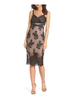 Bronx and Banco camilla lace sheath dress