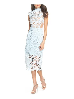 Bronx and Banco lidia lace midi dress