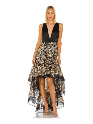 Bronx and Banco louise gown