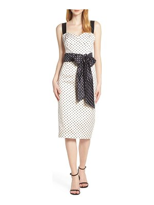 Bronx and Banco morgan sleeveless pencil dress
