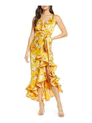 Bronx and Banco narciss high/low maxi dress