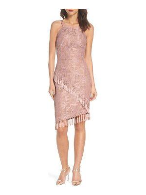 Bronx and Banco natasha asymmetrical lace dress
