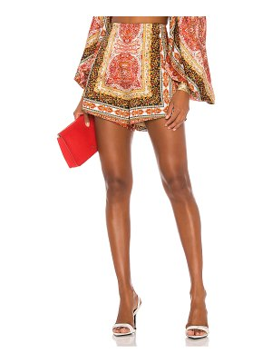 Bronx and Banco runway bedouin flame shorts