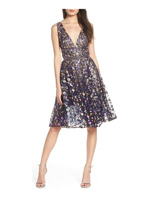 Bronx and Banco sequin fit & flare dress