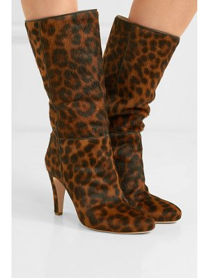 Brother Vellies leopard-print calf hair boots
