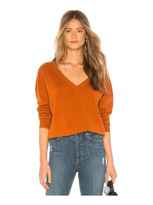 BROWN ALLAN The V Back Sweater