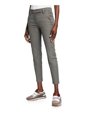Brunello Cucinelli Cropped Skinny Pants