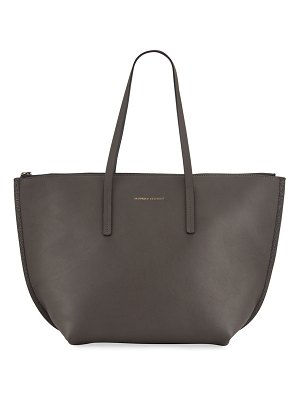 Brunello Cucinelli Large Zip Tote Bag With Monili Side Detail