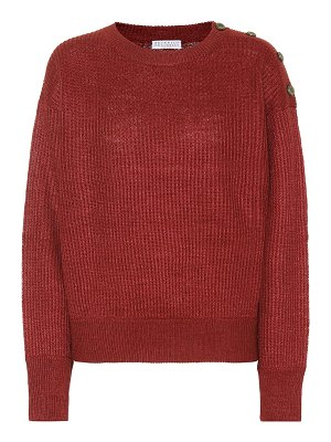 Brunello Cucinelli Linen and silk sweater