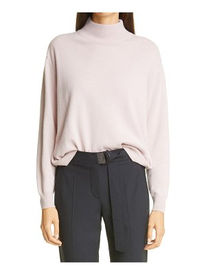 Brunello Cucinelli mock neck cashmere sweater