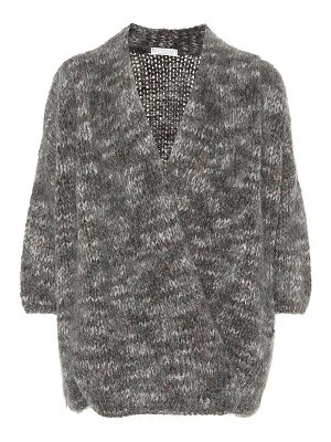 Brunello Cucinelli Mohair cashmere and silk cardigan