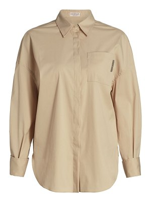 Brunello Cucinelli monili-pocket button down shirt