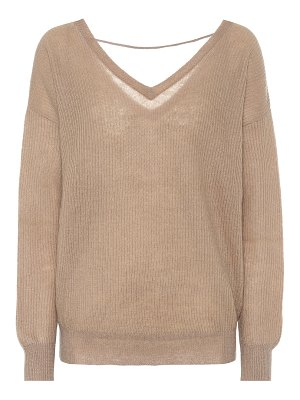 Brunello Cucinelli ribbed mohair-blend sweater