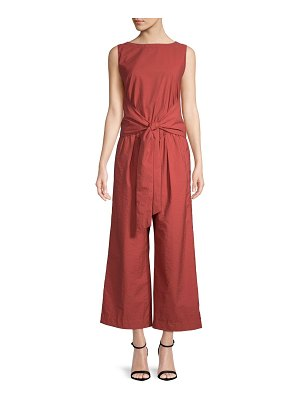 Brunello Cucinelli Self-Tie Sleeveless Jumpsuit