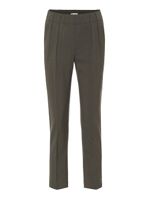 Brunello Cucinelli wool-blend cropped pants