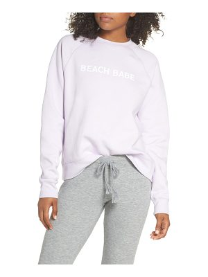 BRUNETTE the Label beach babe middle sister crewneck sweatshirt