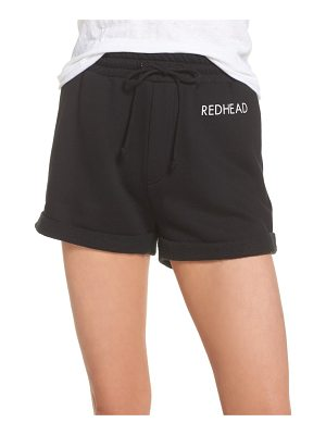 BRUNETTE the Label redhead shorts