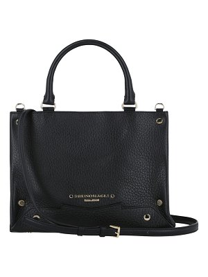 Bruno Magli Small Studded Leather Tote Crossbody Bag