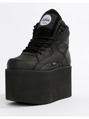 Buffalo london classic extreme flatform sneakers in black