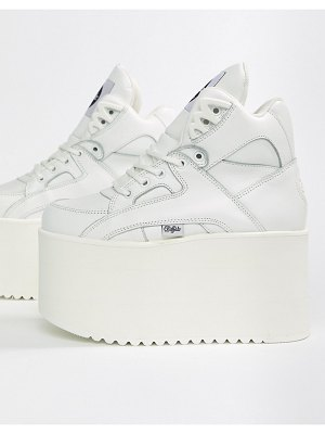 Buffalo london classic extreme flatform sneakers in white