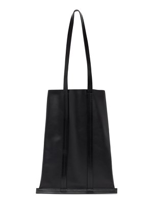 Building Block leather line tote