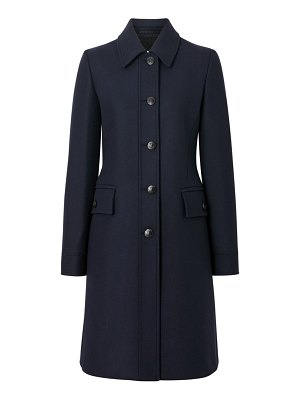 Burberry angus fitted coat
