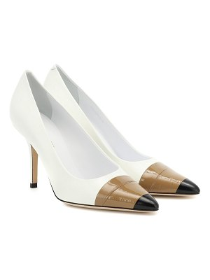Burberry annalise 90 leather pumps