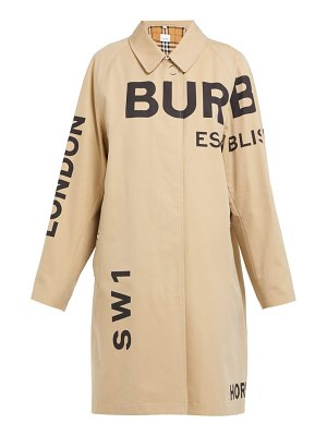 Burberry antonio cotton gabardine car coat