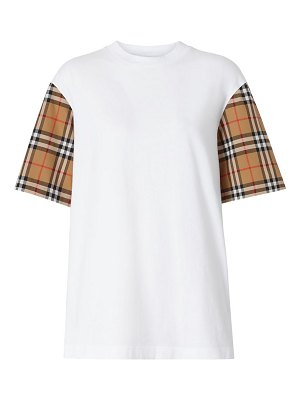 Burberry archive check t-shirt