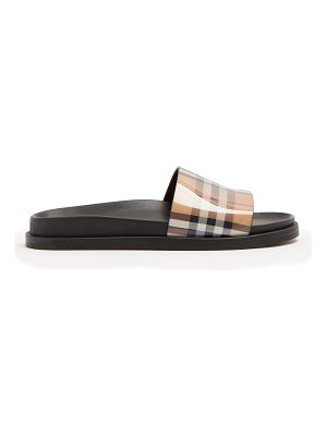 Burberry Ashmore Vintage-checked slides