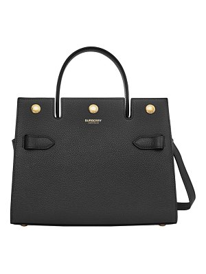 Burberry baby title leather tote