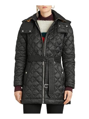 Burberry baughton 18 quilted coat