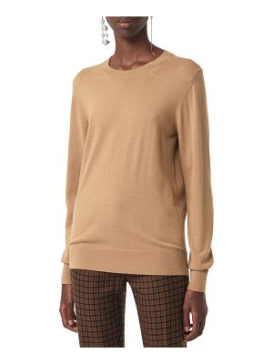 Burberry Bempton Wool Crewneck Sweater
