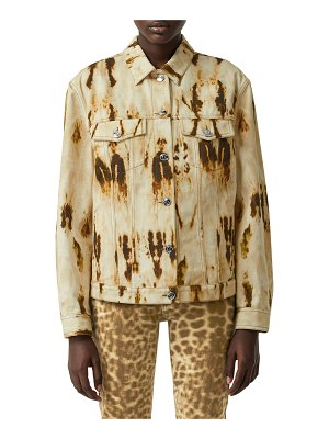 Burberry Bleached Jean Jacket
