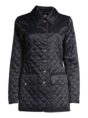 Burberry borthwicke military quilted down coat