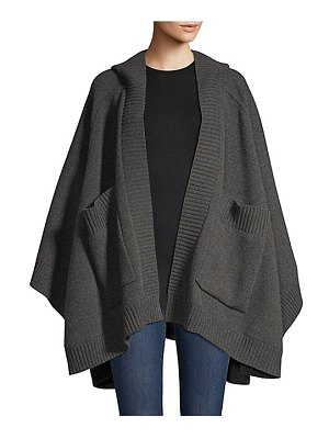 Burberry carla hooded wool & cashmere-blend cape