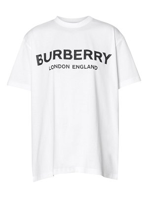 Burberry carrick oversized logo tee