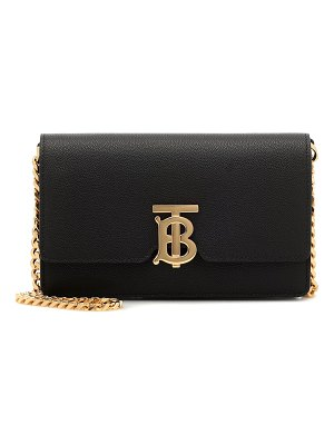 Burberry carrie leather shoulder bag