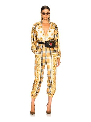 Burberry Check Jumpsuit