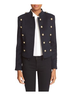 Burberry 'dunebeck' wool & cashmere military jacket