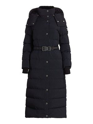 Burberry eppingham belted puffer jacket