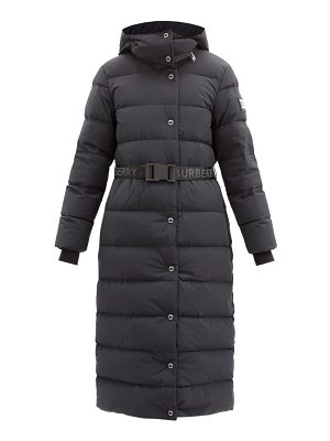 Burberry eppingham belted quilted down coat