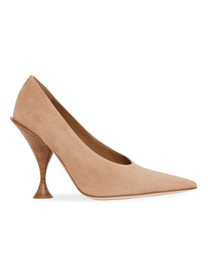 Burberry evan suede pumps