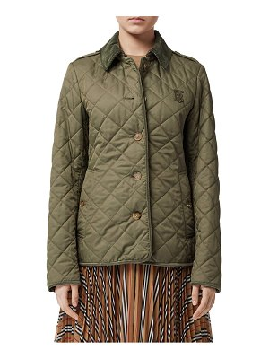 Burberry fernhill frankby monogram quilted jacket