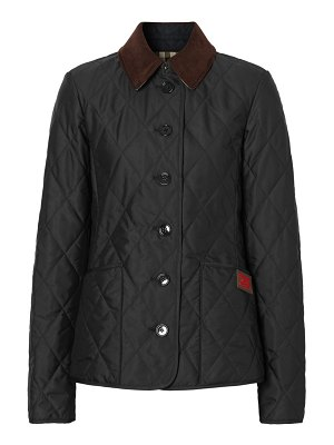 Burberry fernleigh quilted coat