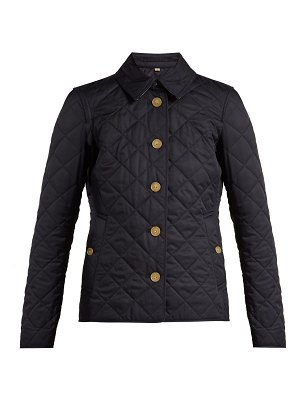 Burberry Frankby diamond-quilted shell jacket