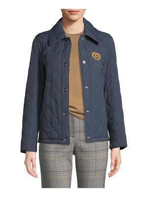 Burberry Frinton Diamond Quilted Jacket