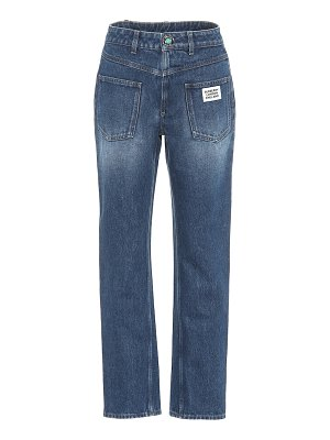 Burberry high-rise straight jeans