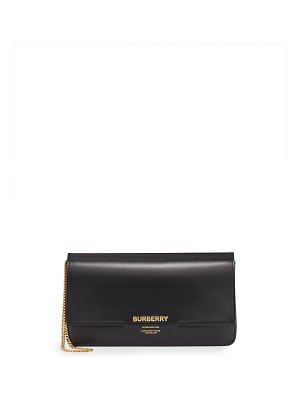 Burberry Horseferry Smooth Clutch Bag